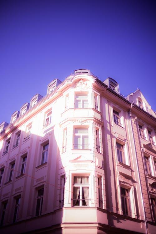 Бесплатное стоковое фото с архитектура, архитектурная деталь, Архитектурное проектирование, геометрический