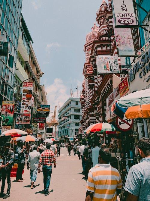 Free stock photo of market, sri lanka, street, vibrant color