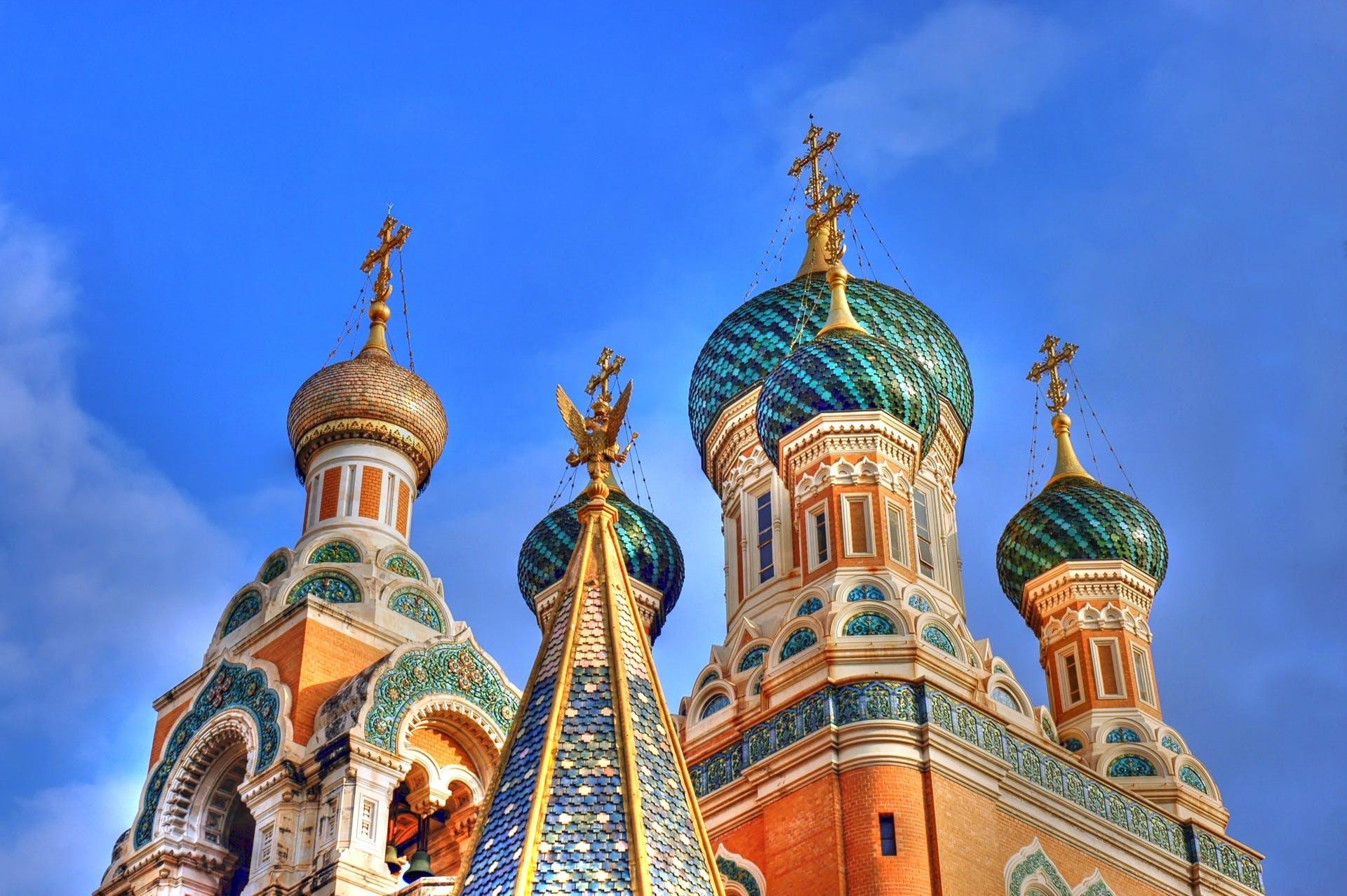 Multicolored Church