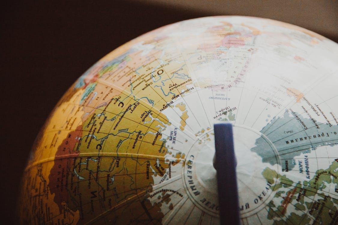 geografi, jorden, Karta