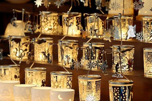 Základová fotografie zdarma na téma svíčky, vánoce, vánoční dárek, vánoční dekory