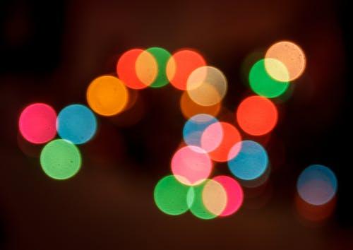 luces, 背景虛化 的 免費圖庫相片