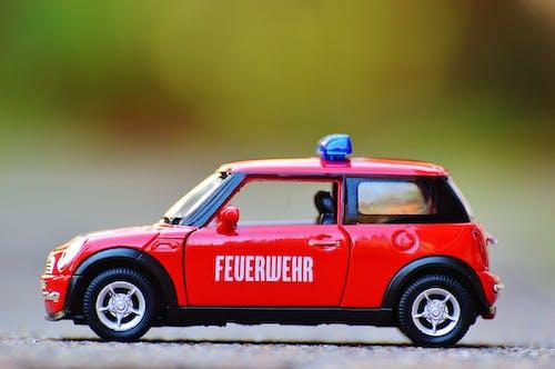 Gratis stockfoto met auto, brandweer, mini, speelgoed