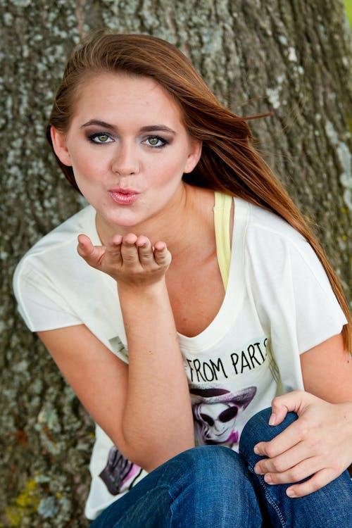 キス, ファッション, ブローキス, モデルの無料の写真素材