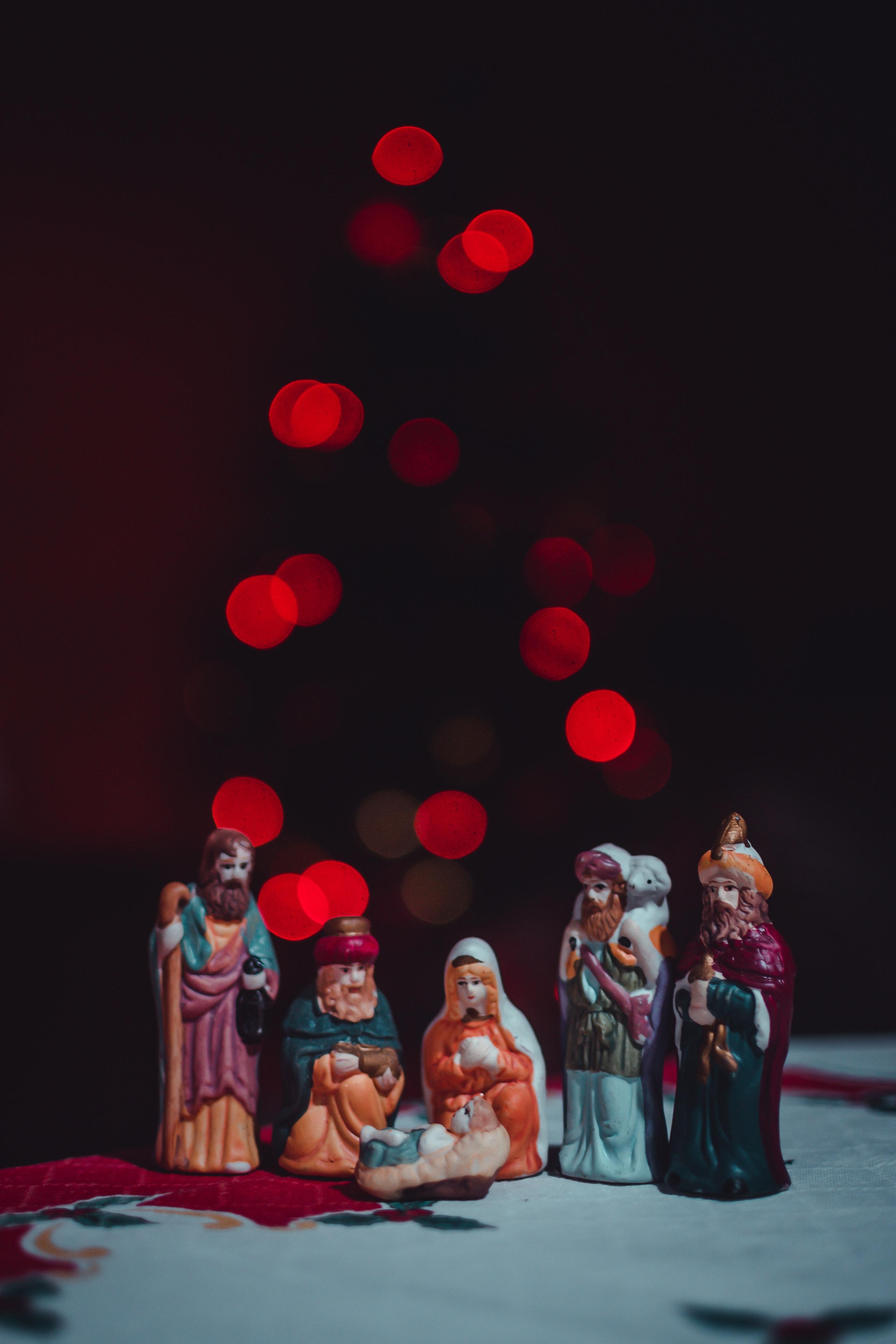 Nativity Set Figurine Free Stock Photo