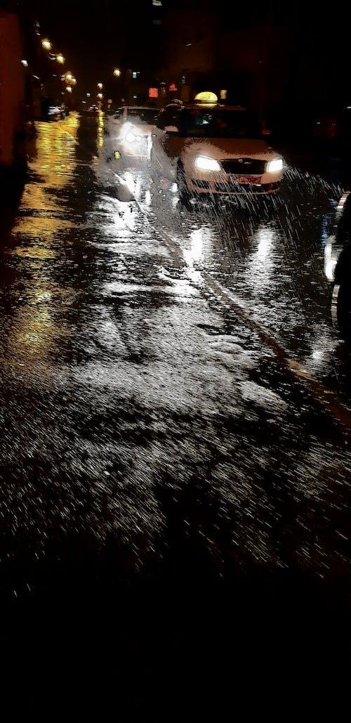 Ảnh lưu trữ miễn phí về đêm, mưa