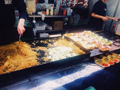 Photos gratuites de # streetfood # yakisoba