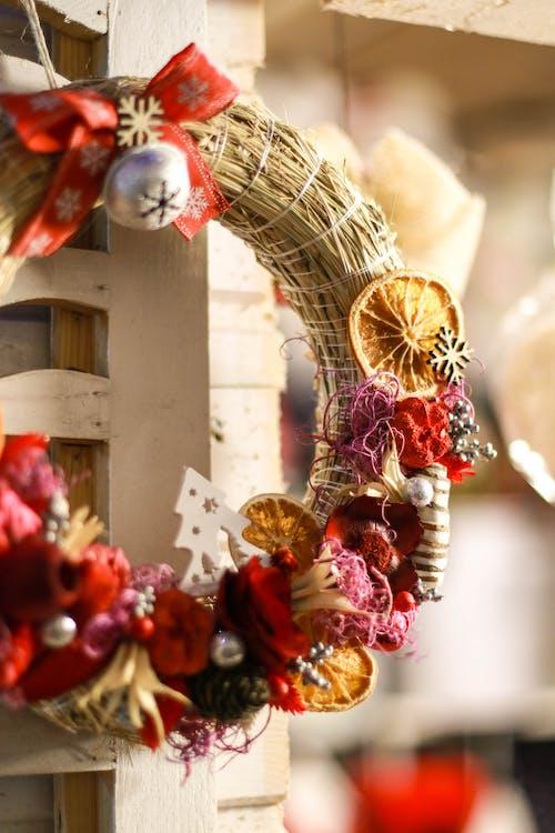 Imagine de stoc gratuită din Crăciun, decorațiuni de Crăciun, iarnă, lucrat manual