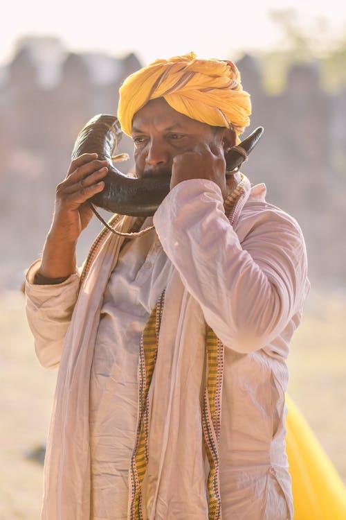 Immagine gratuita di abbigliamento tradizionale, adulto, cultura, deserto
