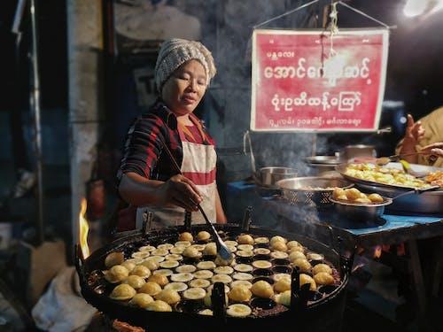 Ingyenes stockfotó álló kép, élelmiszer, Férfi, főzés témában