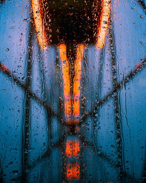 관람차, 빗방울의 무료 스톡 사진