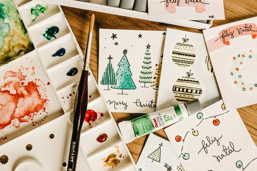 Photos gratuites de art, carte de noël, cartes, créativité