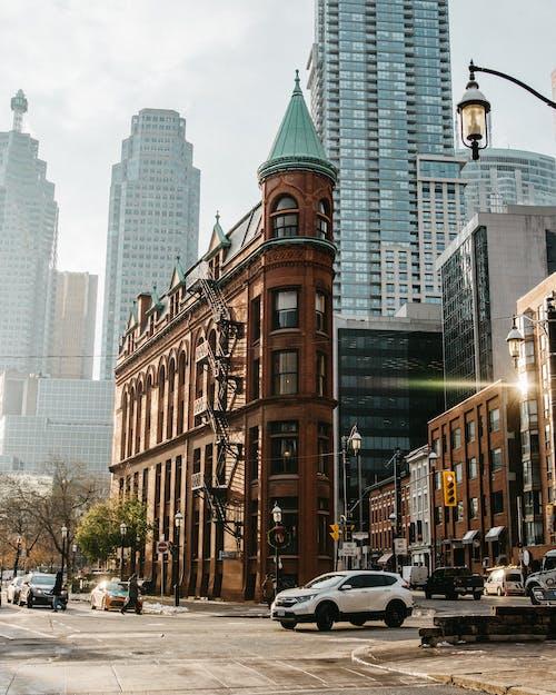 คลังภาพถ่ายฟรี ของ ตัวเมือง, สถาปัตยกรรม, สูงระฟ้า, อาคาร gooderham