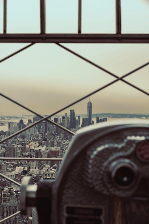 Kostnadsfri bild av arkitektur, binokulär, byggnader, horisont