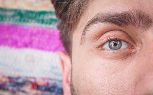 Základová fotografie zdarma na téma muž, obočí, oko, osoba