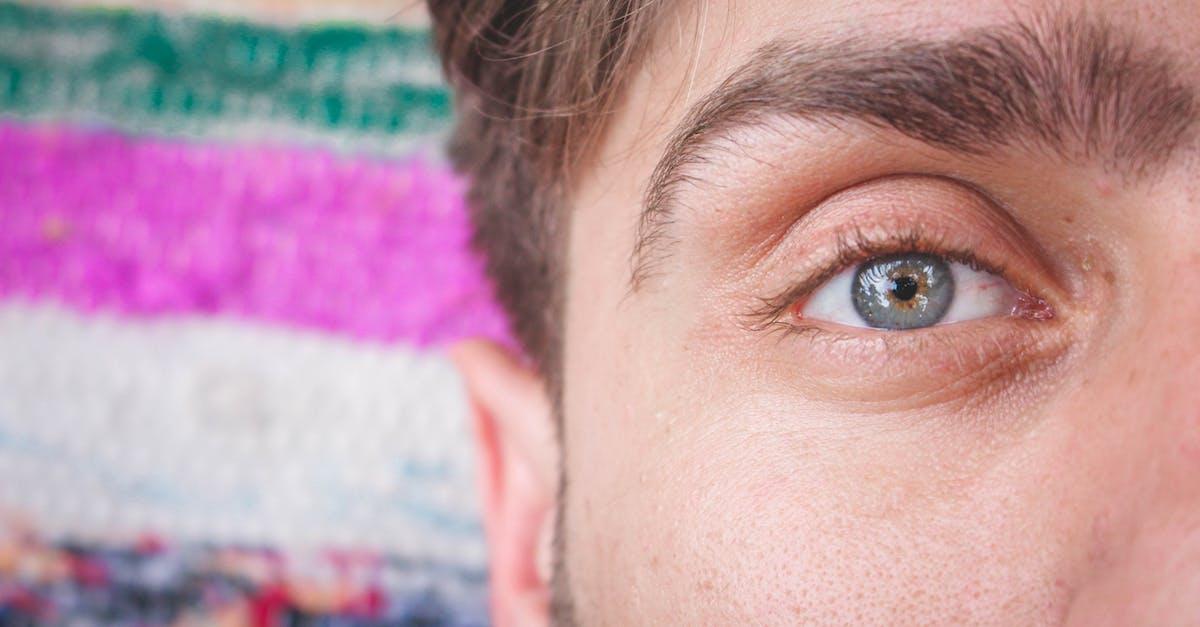Фото мужской глаз близко