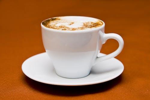 Základová fotografie zdarma na téma caffè latte, espreso, kapalina, kapučíno