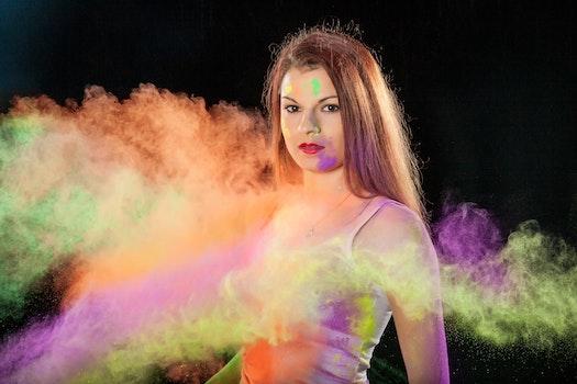Free stock photo of woman, art, creative, girl