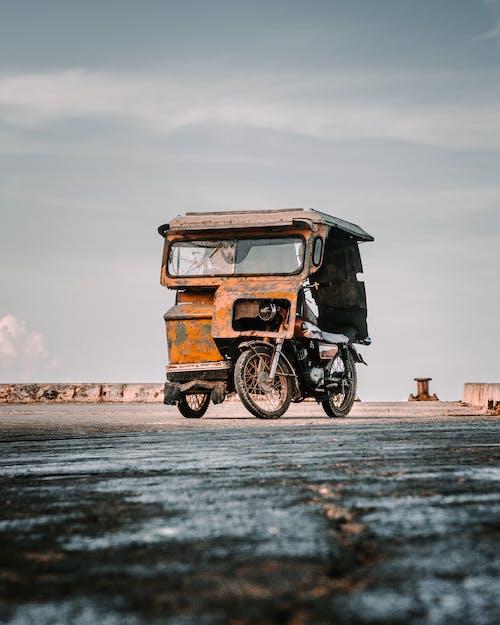 Ein Altes Dreirad