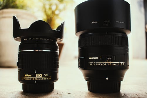 Free stock photo of lenses