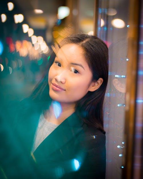 Free stock photo of blue lights, bokeh, christmas lights, christmas vibes