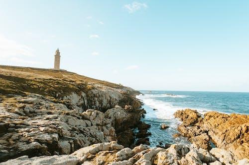 Základová fotografie zdarma na téma maják, moře, oceán, pobřeží