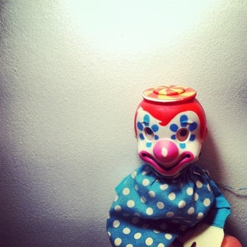 Free stock photo of clown, fear, horror