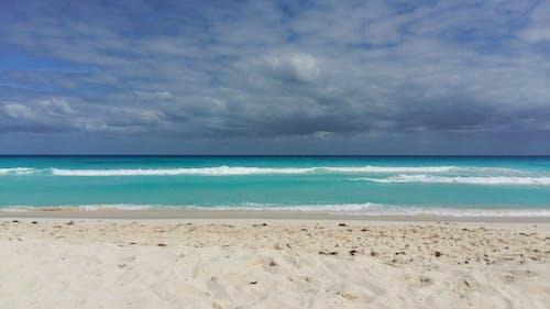 Foto stok gratis awan, karibia, laut pantai
