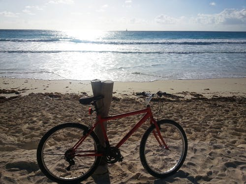 Foto stok gratis karibia, matahari, merah, pasir pantai