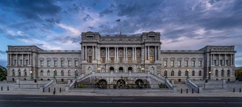 Ilmainen kuvapankkikuva tunnisteilla Amerikka, arkkitehtuuri, ei ihmisiä, hämärä