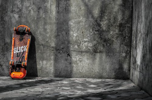 Immagine gratuita di arancia, bianco e nero, chiazza di petrolio, colore
