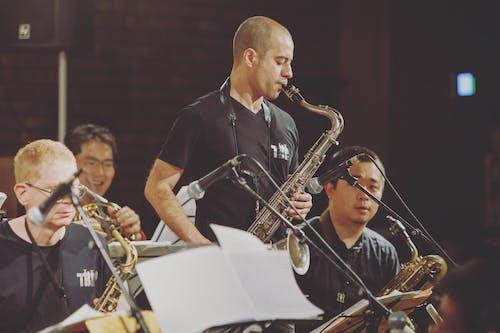 Photo Of Man Playing Saxophone