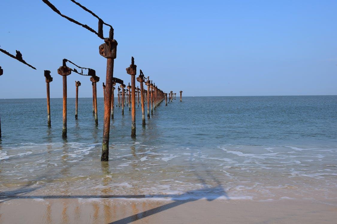 Free stock photo of beach, blue, photography