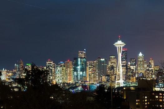 Free stock photo of light, city, sunset, landmark