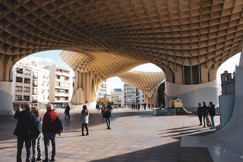 Foto profissional grátis de arquitetura, arte, cogumelo, contemporâneo
