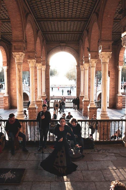 Immagine gratuita di abito, andalusia, architettura, ballando