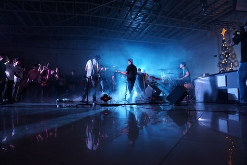 Free stock photo of band, concert, youth