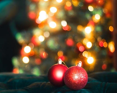 Ingyenes stockfotó díszvilágítás, Karácsony, karácsonyfa, karácsonyi bálok témában