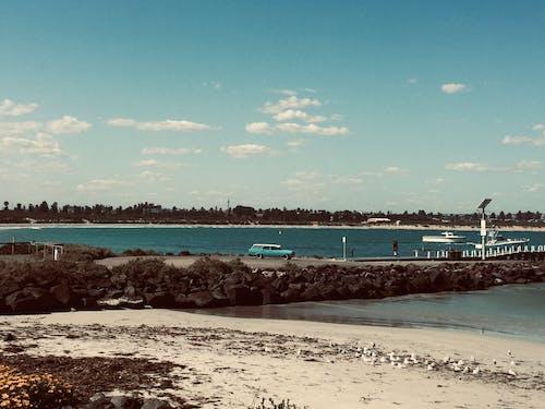 คลังภาพถ่ายฟรี ของ กลางวัน, ชายทะเล, ชายฝั่ง, ชายหาด