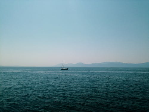 Free stock photo of adriatic sea, beautiful sky, blue
