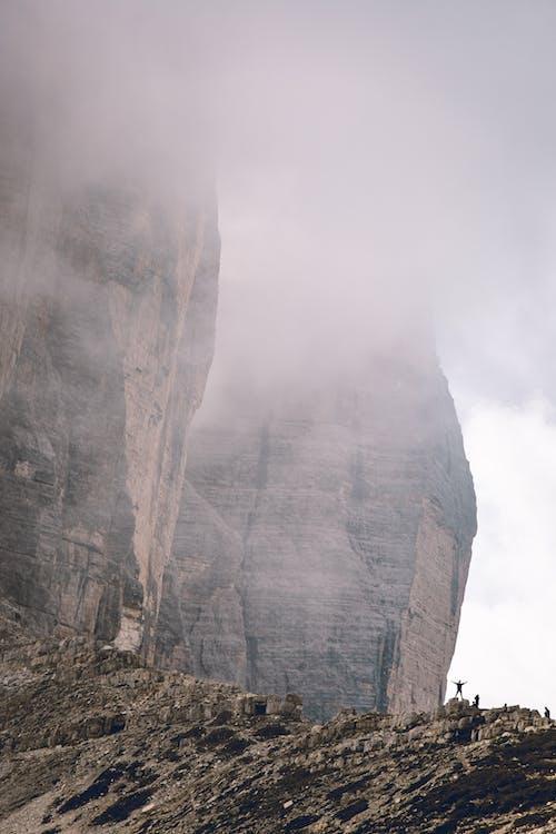 Gratis arkivbilde med daggry, damp, fjell