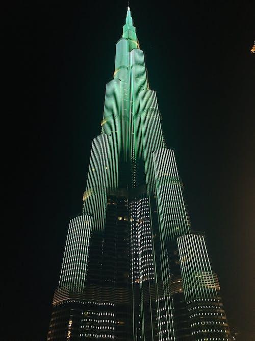 Free stock photo of burj khalifa, dubai, khalifa light show