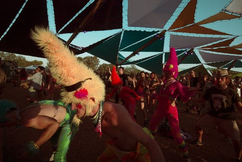 Festival, gösteri, sanatçılar içeren Ücretsiz stok fotoğraf