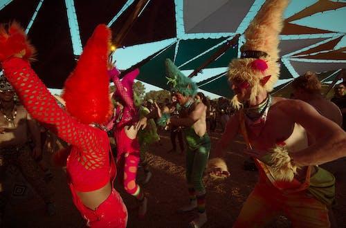 歡樂的, 現場表演, 音樂 的 免费素材照片