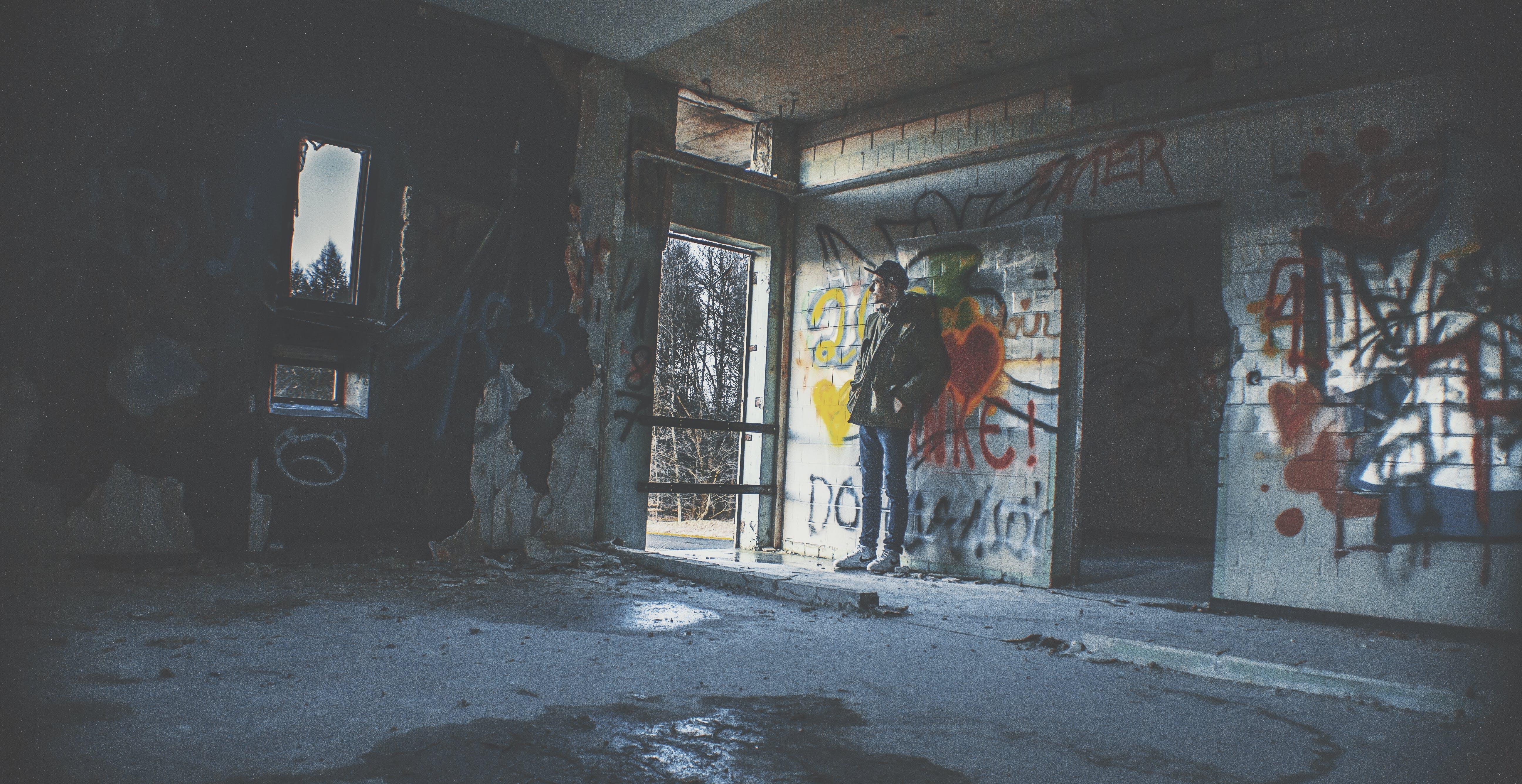 Kostenloses Stock Foto zu verloren platz deutschland verlassene hall house