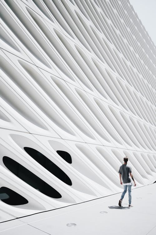 Бесплатное стоковое фото с архитектура, Архитектурное проектирование, бетон, геометрический