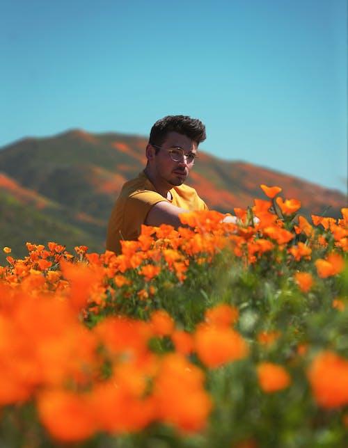 Darmowe zdjęcie z galerii z ca, chłopak, delikatny, flora