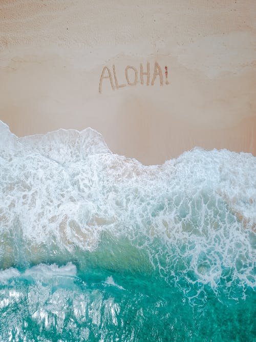Bird's Eye View Of Sea During Daytime