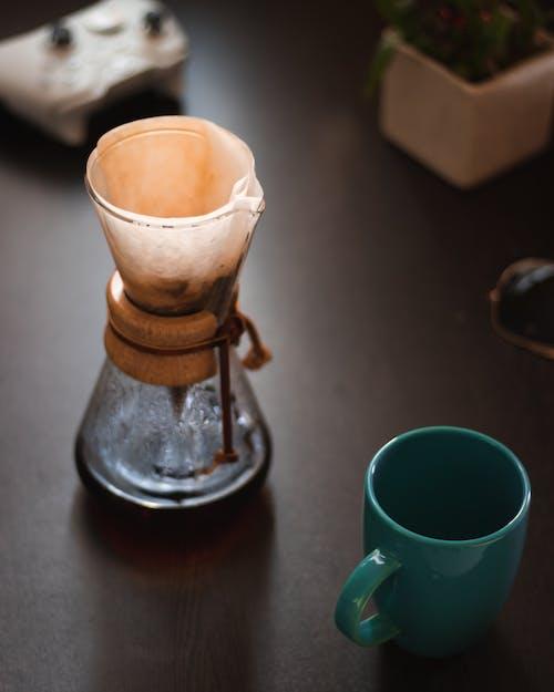 Ilmainen kuvapankkikuva tunnisteilla chemex, Espresso, kahvin suodatin, keitetty kahvi