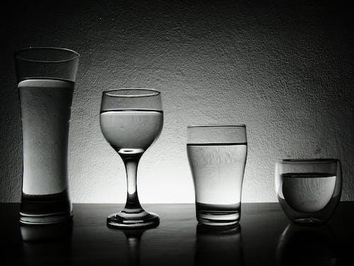 Základová fotografie zdarma na téma lehký, podsvícení, šálek, sklenice
